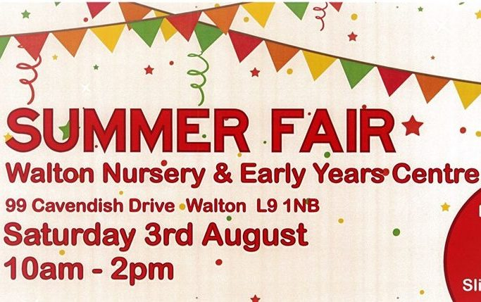 Summer Fair Tomorrow